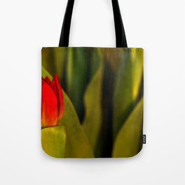 Concept Mother´s Day : Red tulips Tote Bag