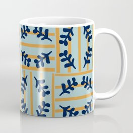 Flowers in a striped world #579 Coffee Mug