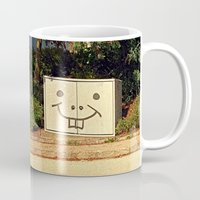 spongebob Mugs featuring Spongebob container | urban photography by Patrick Jobst