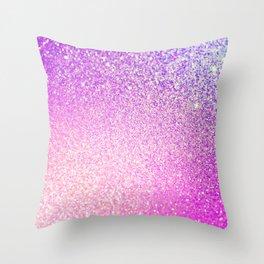 Glitter Shiny Sparkley Throw Pillow