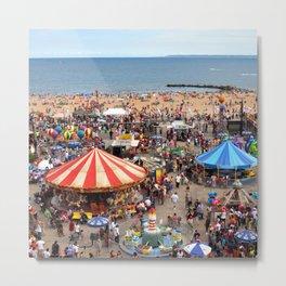 Coney Island Metal Print