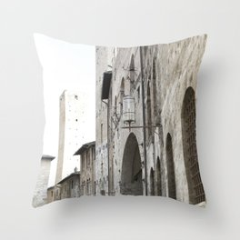 What These Walls Have Seen - Tuscany Throw Pillow