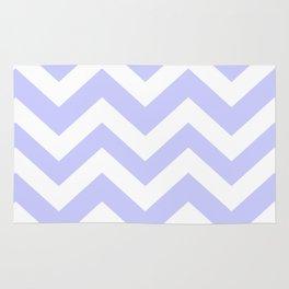Lavender blue - grey color - Zigzag Chevron Pattern Rug