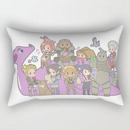 Dragon Age - Origins Companions Rectangular Pillow