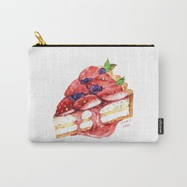 Strawberry Tart Carry-All Pouch
