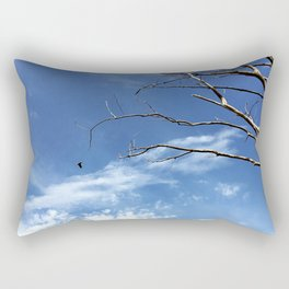 Bird as Prophet Rectangular Pillow