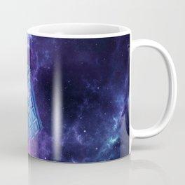 Tardis Nebula Coffee Mug