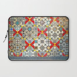 Detroit People Mover Art Broadway Fort and Cass Laptop Sleeve