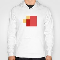 fez Hoodies featuring FEZ by SLUGSPOON