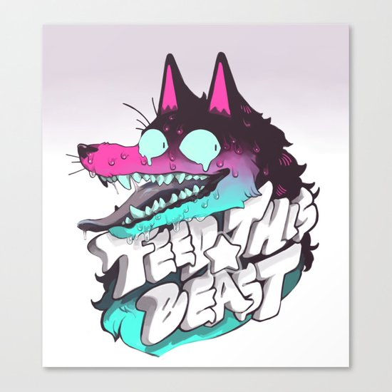 FEED THIS BEAST Canvas Print