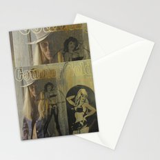Country Gold Stationery Cards