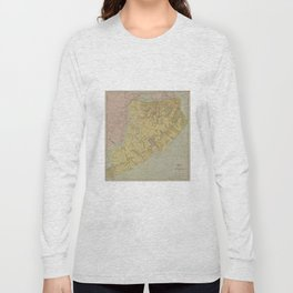 Vintage Map of Staten Island NY (1911) Long Sleeve T-shirt