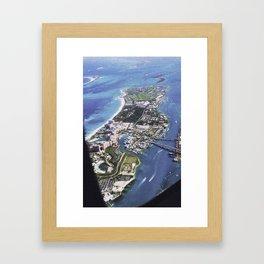 Atlantis at 10,000 Framed Art Print