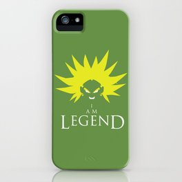I am Broly iPhone Case