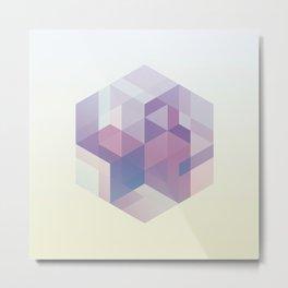 Hexagon Metal Print