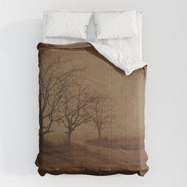 Three Dark Trees Comforters