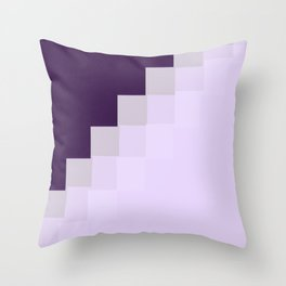 purple color 12 Throw Pillow