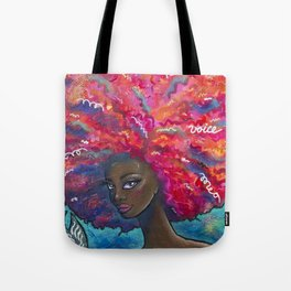 Voice it Girl Tote Bag