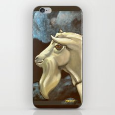 Night of The Billy Goat iPhone Skin