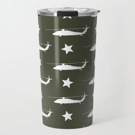 UH-60 Black Hawk Pattern Travel Mug