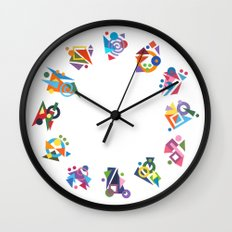 Seeds (Graines) Wall Clock