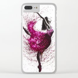 Ballet Wines Clear iPhone Case