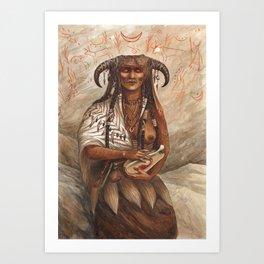 Boneweaver ~ A Compendium of Witches Art Print