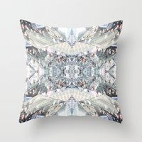 shopping Throw Pillows featuring shopping by ONEDAY+GRAPHIC