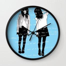 grady twins Wall Clock