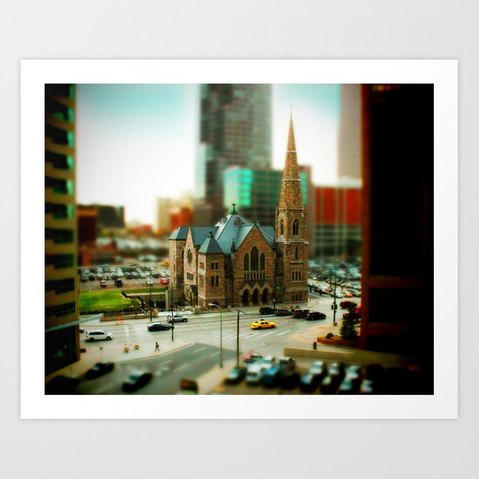 Trinity United Church Art Print