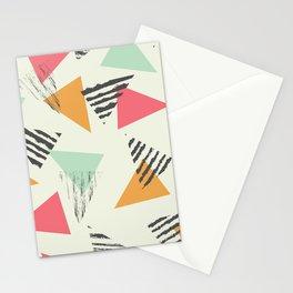 Geometric Mint Pattern Design 015 Stationery Cards