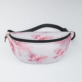 Pink Azalea Flower Dream #1 #floral #pattern #decor #art #society6 Fanny Pack