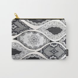 Patterned Pods Carry-All Pouch