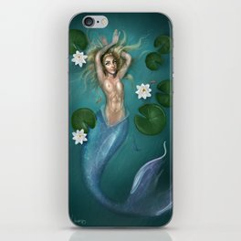 Lilys and the Mermaid iPhone Skin