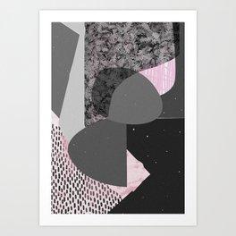 leaves dead Art Print