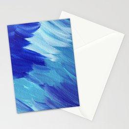 Deepest blues Stationery Cards