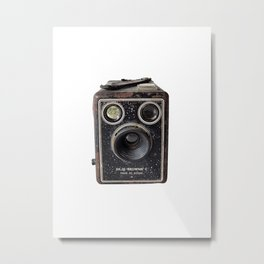 Grandpa's camera Metal Print