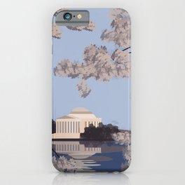 Jefferson Memorial Washington D.C. Print iPhone Case