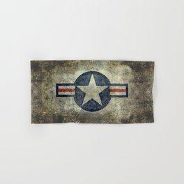 Stylized US Air force Roundel Hand & Bath Towel