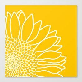 Sunflower Cheerfulness Canvas Print
