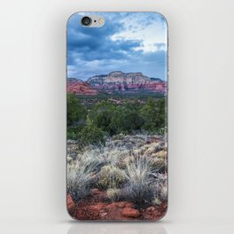 Sedona - Cool Vibes in the Desert Landscape in Northern Arizona iPhone Skin
