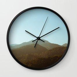 Calm Montains Wall Clock