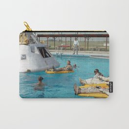 Apollo 1 - Relaxing by the Swimming Pool Carry-All Pouch