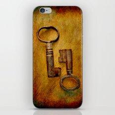 2 Old Keys iPhone & iPod Skin
