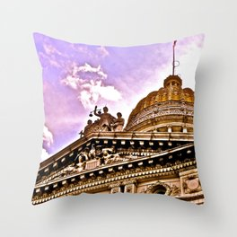 Details at the Courthouse Throw Pillow