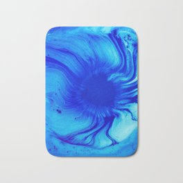 Blue Eye Of Sea Bath Mat