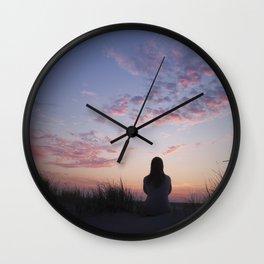 Sunset II Wall Clock