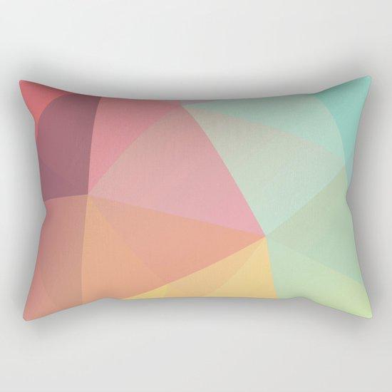 Geometric IX Rectangular Pillow