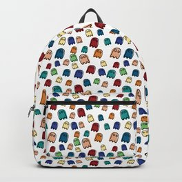 Boo Boo Ghost Halloween Pattern Design Backpack