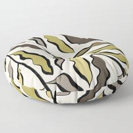 Green Leaves #2 Floor Pillow